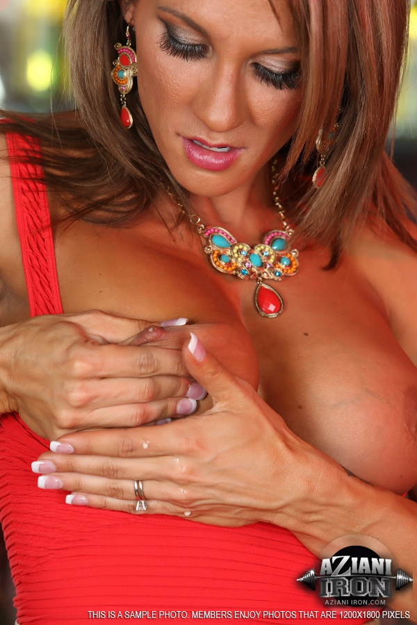 Abby marie female bodybuilder with large clit 10