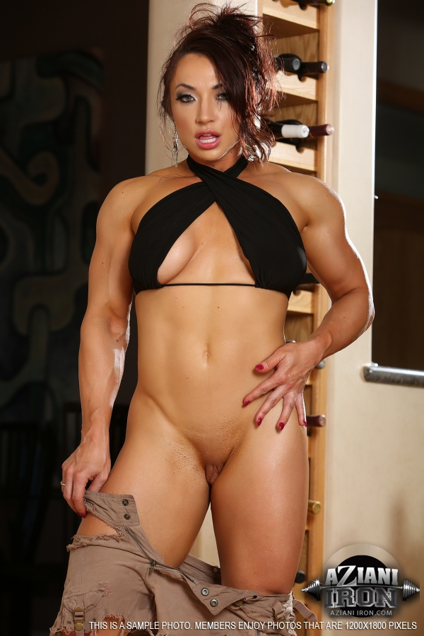 Pity, naked asian female bodybuilders share your