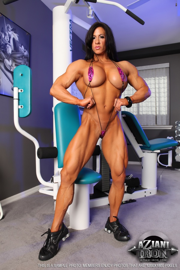 Right! Female bodybuilding bikini nude