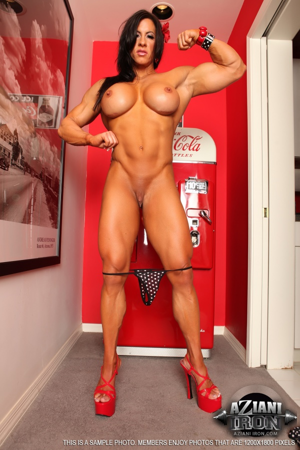 big breast muscle woman naked