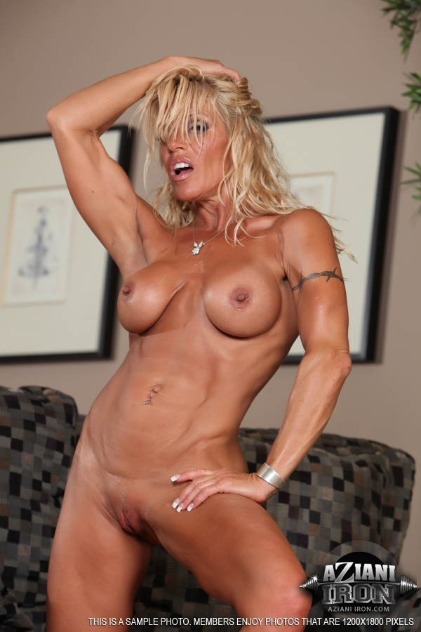 Gina Female Bodybuilder Nude