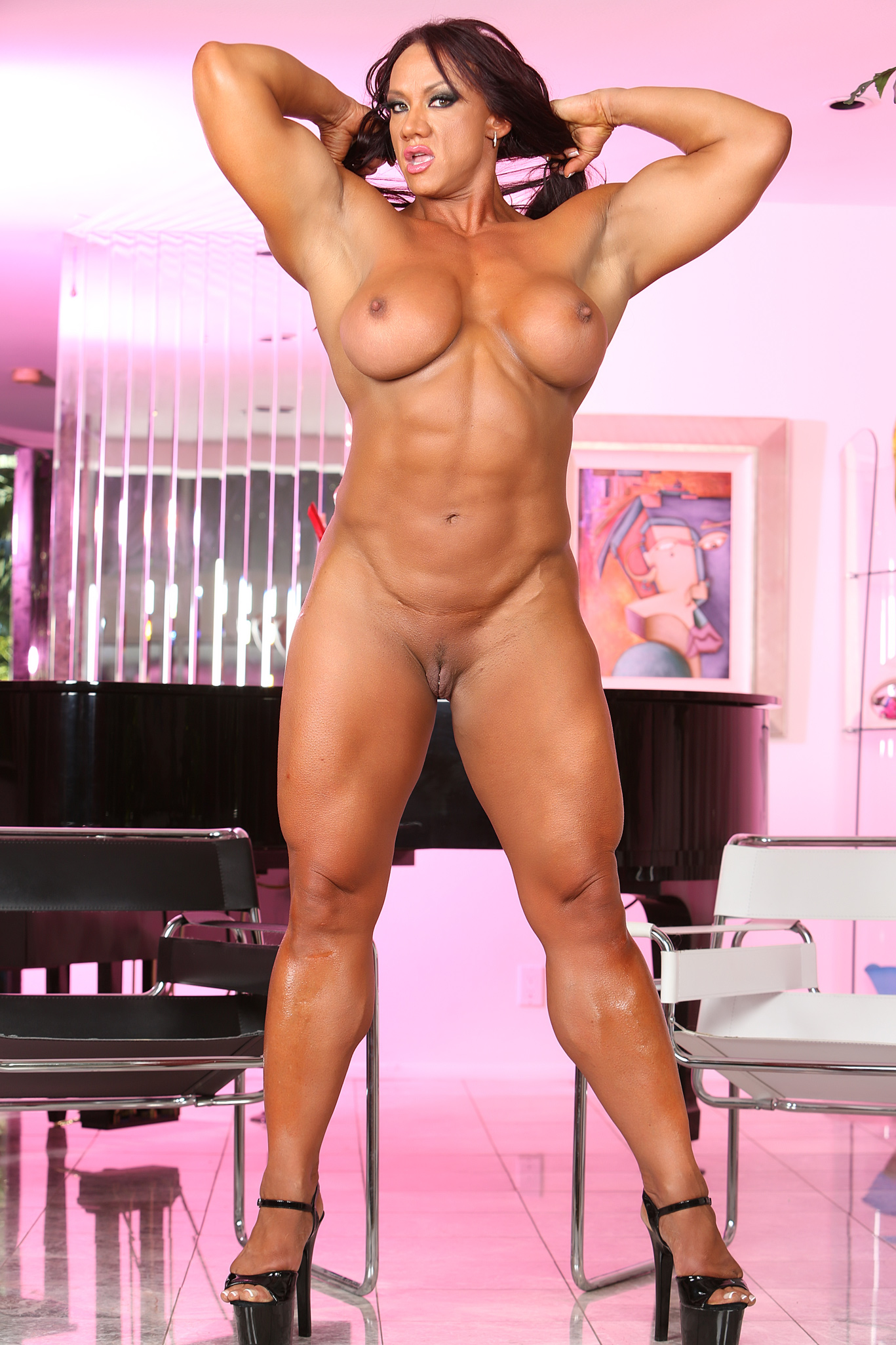 Abby marie fitness model gets naked 2