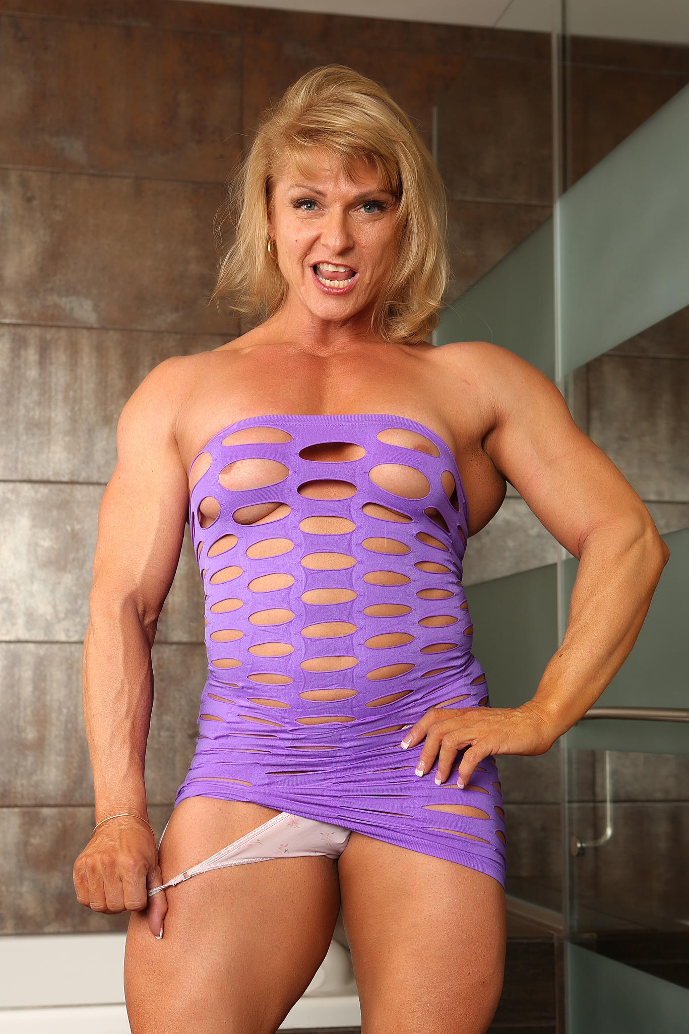 Abby marie fitness models shows her hardbody 7